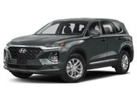 2019 Hyundai Santa Fe SEL 2.4 21/27 City/Highway MPG