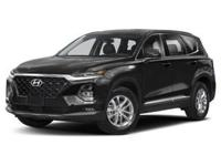 Twilight Black 2019 Hyundai Santa Fe SEL 2.4 AWD