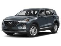 Machine Gray 2019 Hyundai Santa Fe SEL 2.4 AWD