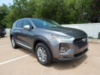 Gray 2019 Hyundai Santa Fe FWD 8-Speed Automatic 2.4L