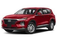 New Price! Scarlet Red 2019 Hyundai Santa Fe SEL 2.4