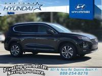 Black 2019 Hyundai Santa Fe SEL Plus 2.4 FWD 8-Speed