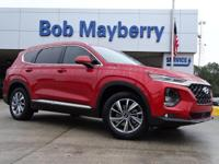 New Price! Lava Orange 2019 Hyundai Santa Fe SEL Plus