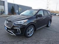 Black 2019 Hyundai Santa Fe XL Limited AWD 6-Speed
