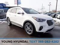 White 2019 Hyundai Santa Fe XL Limited AWD 6-Speed