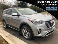 2019 Hyundai Santa Fe XL Limited  Options:  3.041 Axle