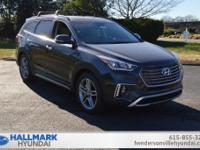 Pearl 2019 Hyundai Santa Fe XL Limited FWD 6-Speed