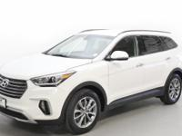 White 2019 Hyundai Santa Fe XL SE AWD 6-Speed Automatic