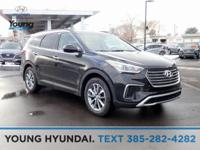 Black 2019 Hyundai Santa Fe XL SE AWD 6-Speed Automatic