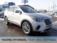 New Price! White 2019 Hyundai Santa Fe XL SE AWD