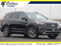 Black 2019 Hyundai Santa Fe XL SE FWD 6-Speed Automatic