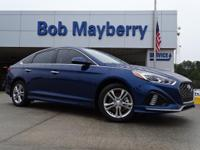 New Price! Blue 2019 Hyundai Sonata Limited FWD 6-Speed