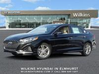 Phantom Black 2019 Hyundai Sonata Limited FWD 6-Speed