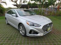Silver 2019 Hyundai Sonata Limited FWD 6-Speed