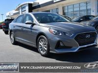 Machine Gray 2019 Hyundai Sonata SE Automatic 2.4L