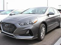 Machine Gray 2019 Hyundai Sonata SE FWD Automatic 2.4L