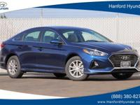 Blue 2019 Hyundai Sonata SE FWD 6-Speed Automatic with