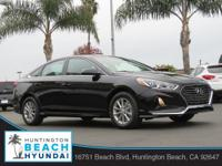 2019 Hyundai Sonata 4D Sedan Phantom Black 2.4L