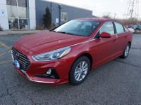 Scarlet Red 2019 Hyundai Sonata SE FWD 6-Speed