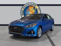Recent Arrival! 2019 Hyundai Sonata Sport Electric Blue