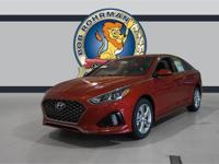 Recent Arrival! 2019 Hyundai Sonata Sport Scarlet Red