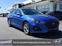Electric Blue 2019 Hyundai Sonata SEL 2.4L  Recent