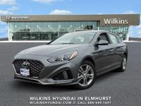 Machine Gray 2019 Hyundai Sonata SEL FWD 6-Speed