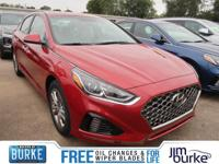 New Price! Scarlet Red 2019 Hyundai Sonata SEL FWD