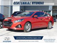 Scarlet Red 2019 Hyundai Sonata Sport FWD 6-Speed