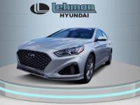 Gray Cloth. $1,000 off MSRP! Silver 2019 Hyundai Sonata