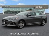 Machine Gray 2019 Hyundai Sonata Sport FWD 6-Speed