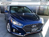 Blue 2019 Hyundai Sonata SEL FWD 6-Speed Automatic with