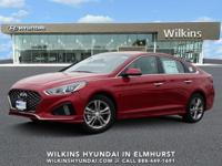 Scarlet Red 2019 Hyundai Sonata SEL FWD 6-Speed