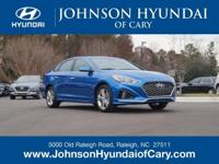 2019 Hyundai Sonata SEL Electric Blue 6-Speed Automatic
