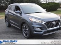 Gray 2019 Hyundai Tucson Sport FWD 6-Speed Automatic