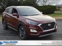 Red 2019 Hyundai Tucson Sport FWD 6-Speed Automatic