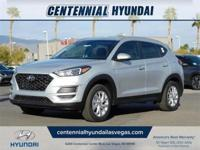 Silver 2019 Hyundai Tucson Value FWD 6-Speed Automatic