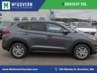 Gray 2019 Hyundai Tucson SE FWD 6-Speed Automatic with