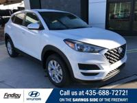 White 2019 Hyundai Tucson SE FWD 6-Speed Automatic with