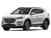 White 2019 Hyundai Tucson Sport AWD 6-Speed Automatic
