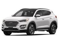 White Pearl 2019 Hyundai Tucson Ultimate AWD 6-Speed