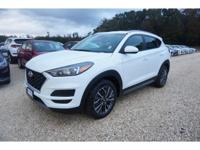 White 2019 Hyundai Tucson SEL FWD 6-Speed Automatic