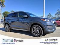 Blue 2019 Hyundai Tucson SEL FWD 6-Speed Automatic with