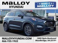 Recent Arrival! AWD.  Blue 2019 Hyundai Tucson Ultimate