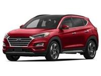 2019 Hyundai Tucson Limited Red AWD. 21/26 City/Highway