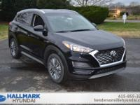 Black Pearl 2019 Hyundai Tucson SEL AWD 6-Speed