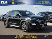 Black 2019 Hyundai Tucson FWD 6-Speed Automatic with