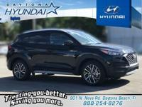 Black 2019 Hyundai Tucson SEL FWD 6-Speed Automatic
