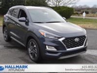 Blue 2019 Hyundai Tucson Sport FWD 6-Speed Automatic