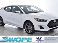Recent Arrival! This 2019 Hyundai Veloster in White